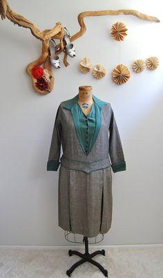 Vintage 1920s Dress  20s Wool Dress  The Abigail by BohemianBisoux, $122.00