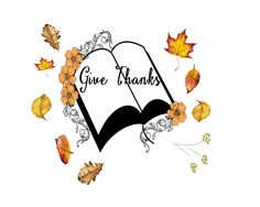 Free Thanksgiving Printable Give Thanks Bible 10 x 8