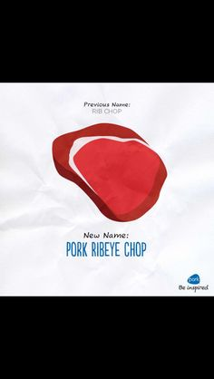 Pork has a new naming system.  Check it out @ porkbeinspired.com