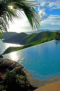 Contact #BlueOceanBooking to visit these stunning Virgin Islands locations on your next vacation!  Falcon's Nest, Peter Island, BVI