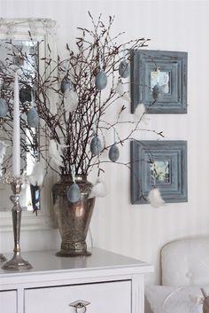 Så Vitt Jag Vet: Påskträd i gråblått...