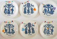 handmade folklore ceramics by ninainvorm on etsy