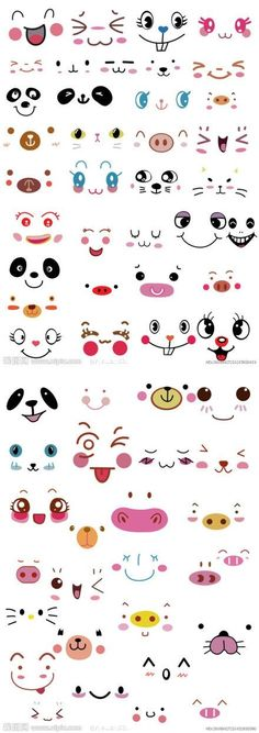 faces... It's very cutee.. by molly