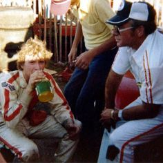 Mark Martin and his Dad