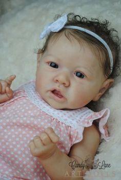 Reborn Baby Girl Doll - Saskia by Bonnie Brown                                                                                                                                                                                 More