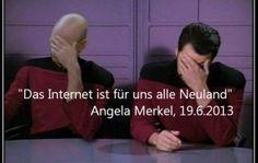 Och nö, Mutti: Merkel bezeichnet das Internet als #Neuland – die ganze Presseerklärung im Video (Update) – GIGA