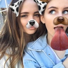 This filter also allows your friend to join your selfie.