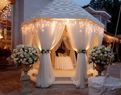 Pam Loves Event Planning: How Romantic Could This Gazebo/Mandap Be For A Wedding Or A Lavish Party