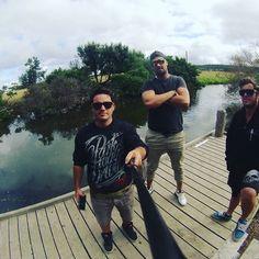 Mtb gang #apollobay #camping #selfiestick by a_danger_t http://ift.tt/1LQi8GE