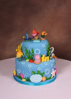 Finding Nemo Cake i think chad i could do this 3 love it