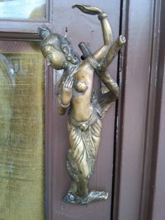 Door handle on the May Kitchen Thai restaurant on Vashon Island. | CostMad do not sell this item/idea but have lots of great ideas and products for sale please click below