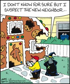 Sesame Street humor Off the Mark. Funny cartoons  it was Cookie!!!