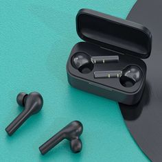 QCY T5 - $17.00 (coupon: QCYT5TWS) TWS Wireless Bluetooth 5.0 Earbuds Headphone Touch Control Sports Running Earphone Double Microphones Comfortable Wear #QCY #T5 #Headphones #Bluetooth #Earbuds #наушники #gearbest #TWS #Earphones #coupon #купон 6108