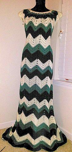 Beautiful crocheted dress