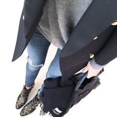Cold Weather Fashion, Cold Weather Outfits, Fall Winter Outfits, Autumn Winter Fashion, Winter Style, Casual Chic, Cabas Vanessa Bruno, Mademoiselle K, Susanna Boots