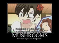 Ouran High School Host Club~Mushrooms
