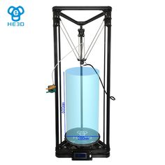 563.06$  Watch now - http://aliwmg.worldwells.pw/go.php?t=32760329432 - Large size  He3D single E3D extruder Kossel delta K280 3d printer kit-Multi Material Support with heatbed and auto level