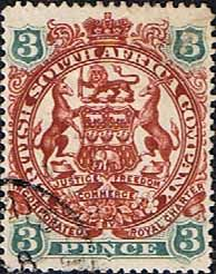 Rhodesia 1898 British South Africa Company SG 69 Fine Used Scott 53 Other Rhodesian Stamps HERE