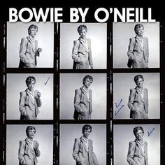 Terry O Neill, Jean Genie, Station To Station, Aladdin Sane, The Thin White Duke, Major Tom, Young Americans, Ziggy Stardust, Iconic Photos