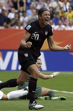 Fantastic finish by #HopeSolo, #AbbyWambach, and the whole US womens soccer team to beat Brazil.