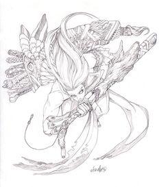 Sword collector by elsevilla on DeviantArt