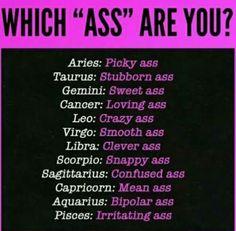 I keep being told I'm bipolar. #Aquarius