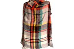 76c9f55458e Splendide écharpe en laine oversize pour homme et femme! Maxi Echarpe