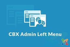 CBX Admin Left Menu for Joomla