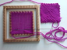 Weavette tiny weaving