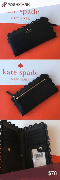 🎉HP🎉 NWT 💯 Kate Spade wallet 💕 Brand new Kate Spade wallet. No trade please kate spade Bags Wallets