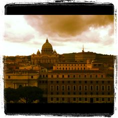 From the top of Castel Sant'Angelo, Rome