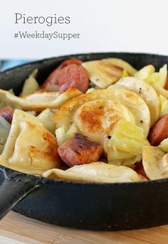 how to cook pierogies with onions
