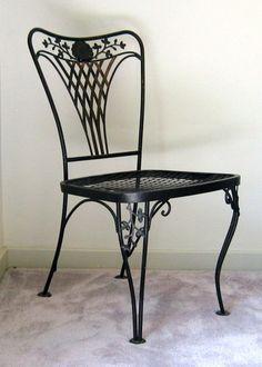 Woodard Portofino side chair  offered on eBay starting at $50.00