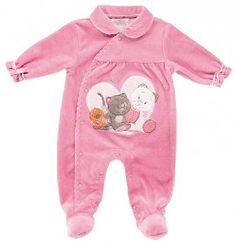 Noukies Pyjama Velours Fuschia Iris Et Babette chez Doudouplanet.com - 20556