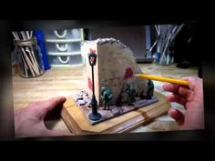 How To Make Miniature Stone Walls EASY Part 1 - YouTube