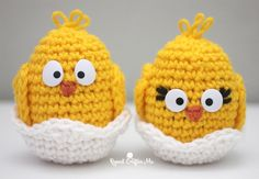Cheep! Cheep! Cheep! This baby chick crochet pattern is hatching just in time for Spring and Easter crafting! He works up super quick and the Comic Safety Eyes really bring this guy to life. A great decoration, place setting piece, gift, Easter basket favor, and more. Bernat Super Value in Bright Yellow is the perfect …