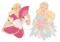 Barbie movies by Glamist on DeviantArt Cartoon Kunst, Cartoon Art, Barbie Drawing, Character Art, Character Design, Barbie Movies, Poses References, Disney And Dreamworks, Princesas Disney