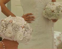 Buquê de Broches noiva