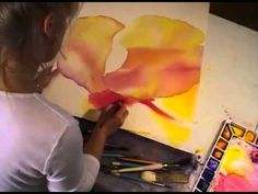 Watercolor in Motion with Birgit O'Connor - YouTube