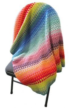 FREE Granny stripe blanket from Black sheep wools. Just lovely and great colour patterning given, thanks so! yay! xox http://media.blacksheepwools.com/media/wysiwyg/granny_blanket_1.pdf