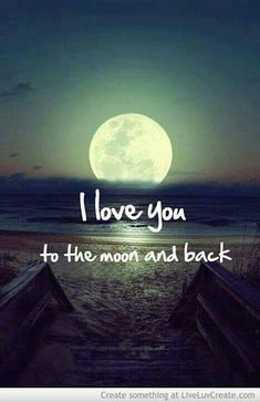 Yes I do!!! Even further than the moon!!!