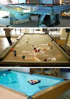 Pool Table Fish Tanks