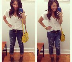 Boyfriend Jeans Styled