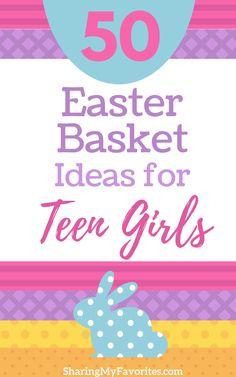 Non candy easter basket ideas basket ideas easter baskets and 50 easter basket ideas for teen girls negle Gallery