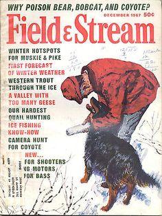 12 1967 Field and Stream Magazine Muskie | eBay