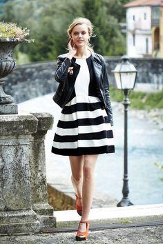 Leather + Strata Dress :: #anthrofave