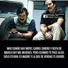 Imagen relacionada Pablo Escobar Frases, Pablo Emilio Escobar, The Godfather, Qoutes, Love Quotes, Poems, Humor, Motivation, Feelings