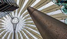 Berlin - Sony Center I - Impression from the Sony Center at Potsdamer Platz in Berlin, Germany