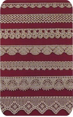 Free Easy Crochet Lace Edging | CROCHETED LACE EDGING PATTERNS | Crochet and Knitting Patterns
