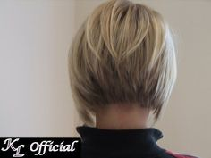 Stacked inverted bob - The Beauty Thesis